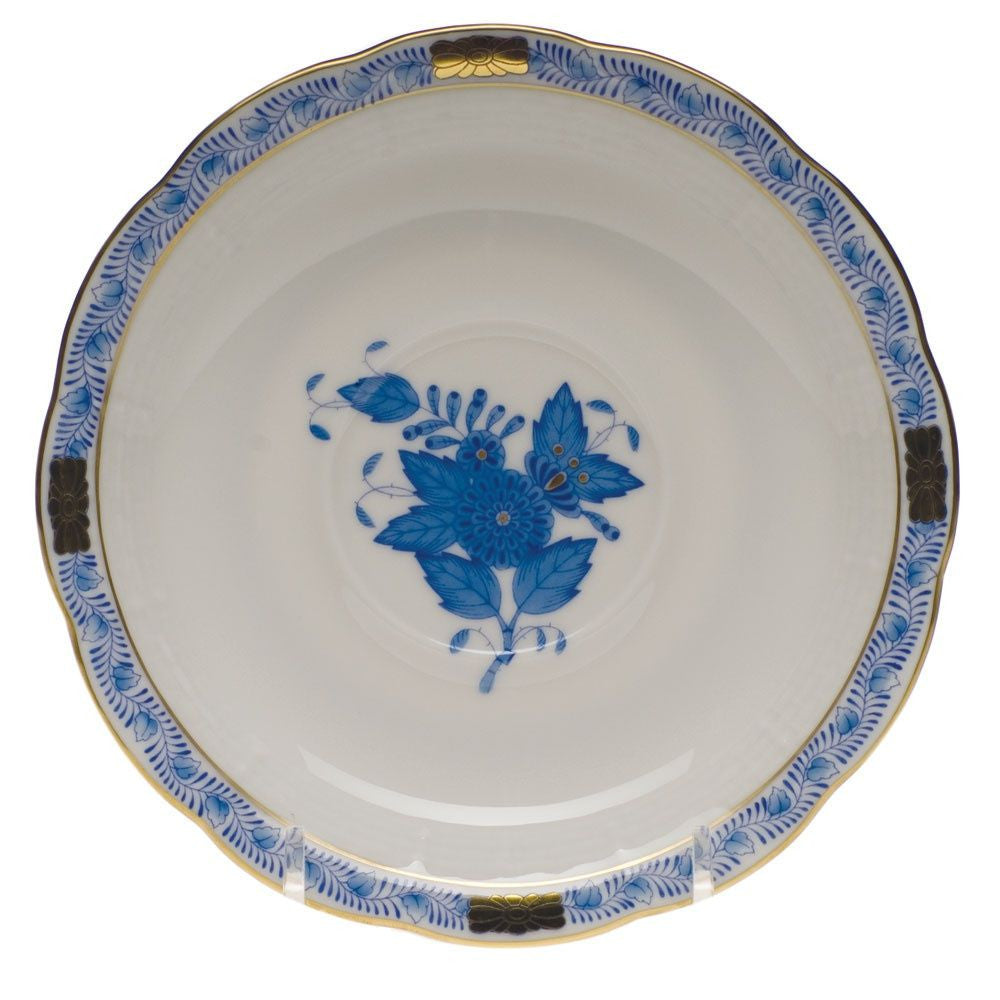 Chinese Bouquet Blue Saucer