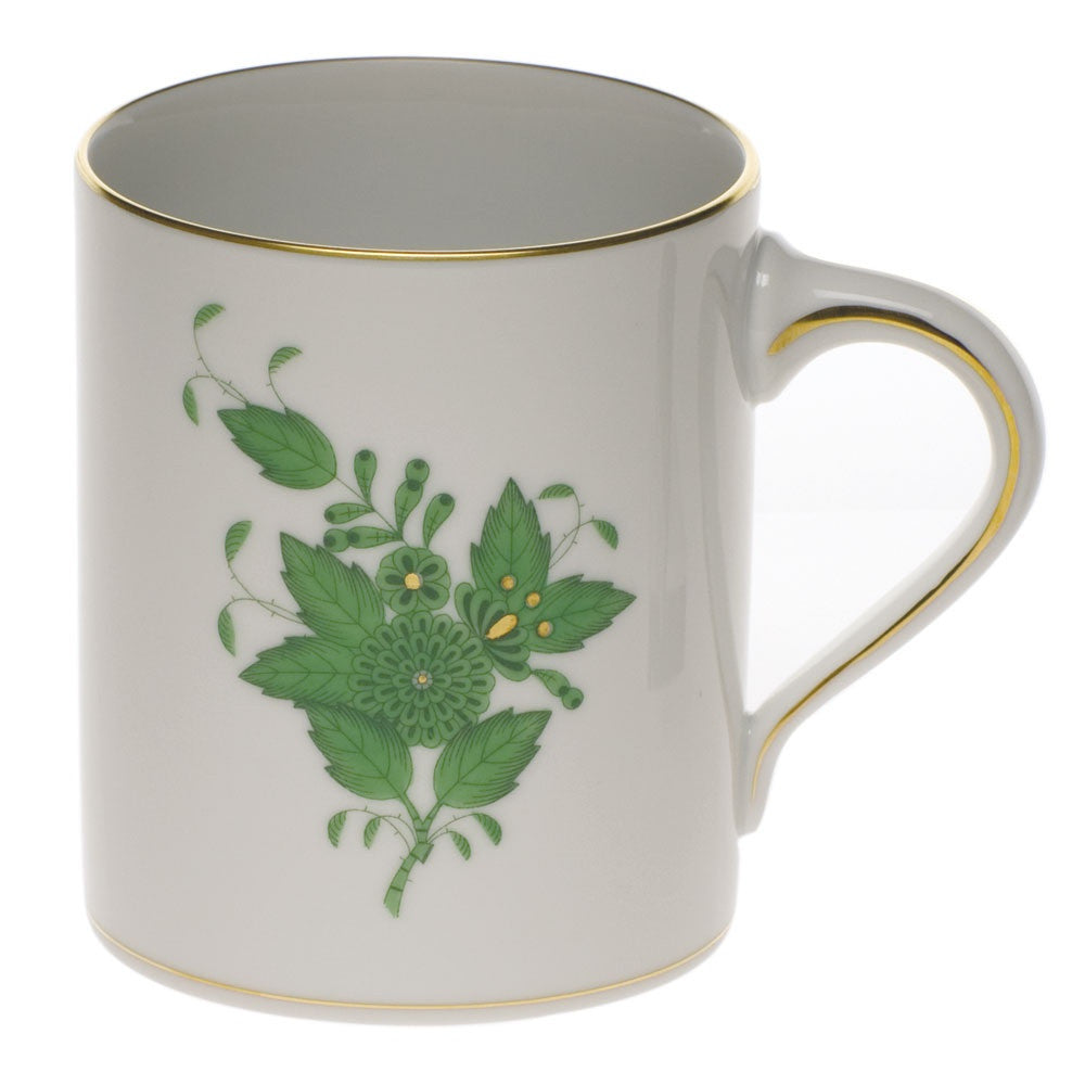 Chinese Bouquet Green Coffee Mug