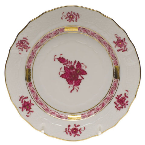Chinese Bouquet Raspberry Bread And Butter Plate