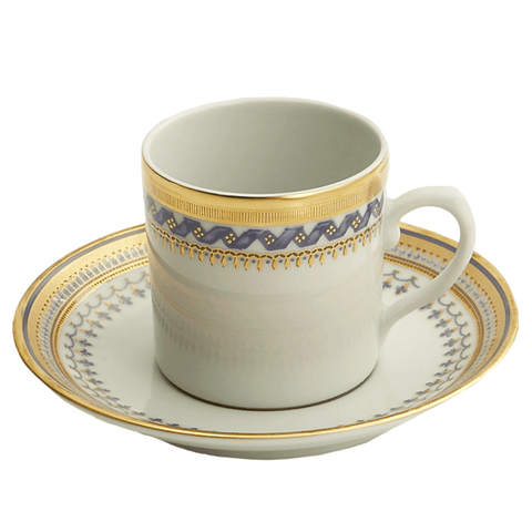 Chinoise Blue Cup And Saucer