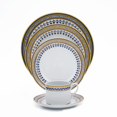 Chinoise Blue Dessert Plate