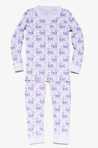 Kids Pajama set Qwen the Unicorn