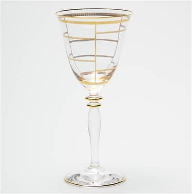 Elegante Grid Wine Glass