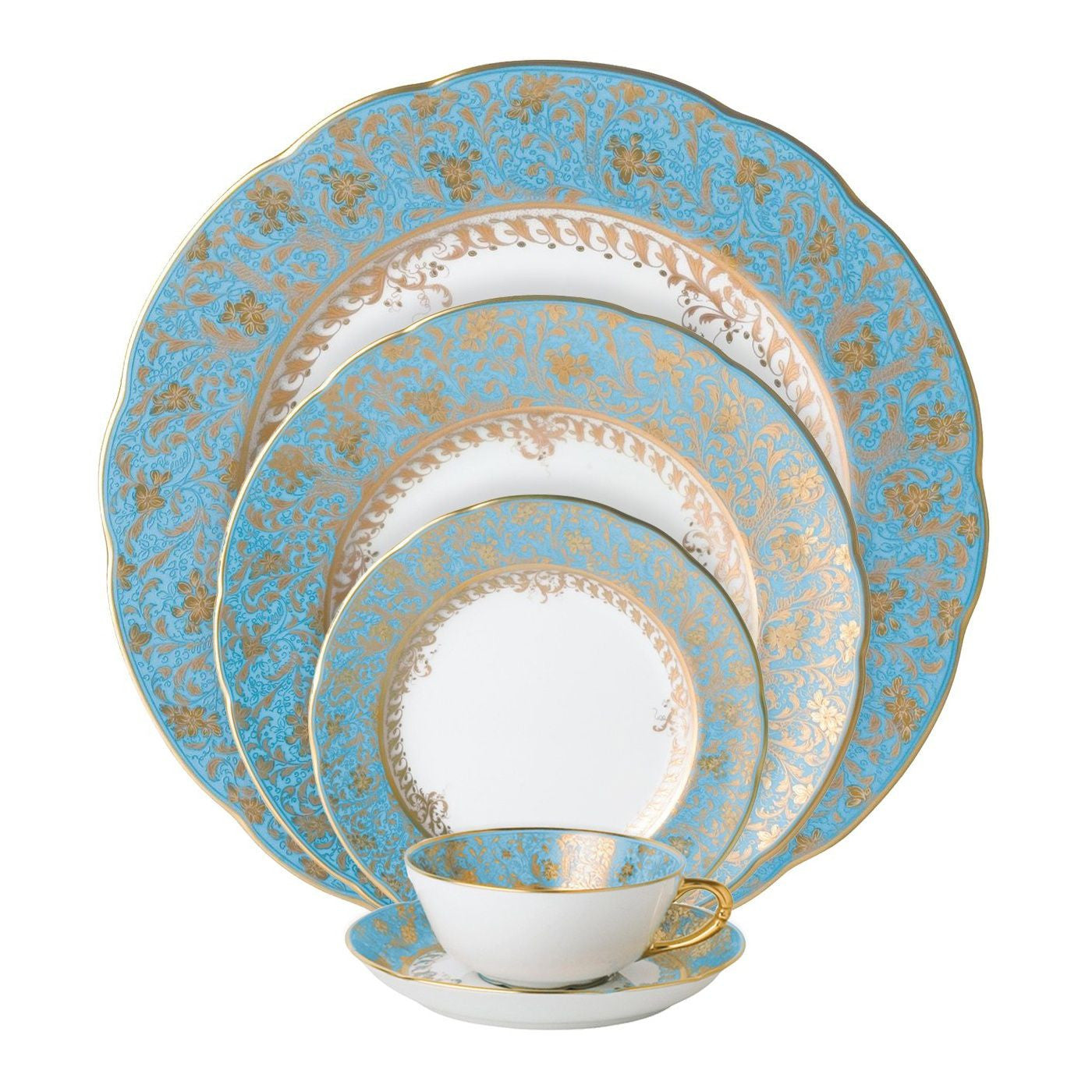 Eden Turquoise Bread and Butter Plate