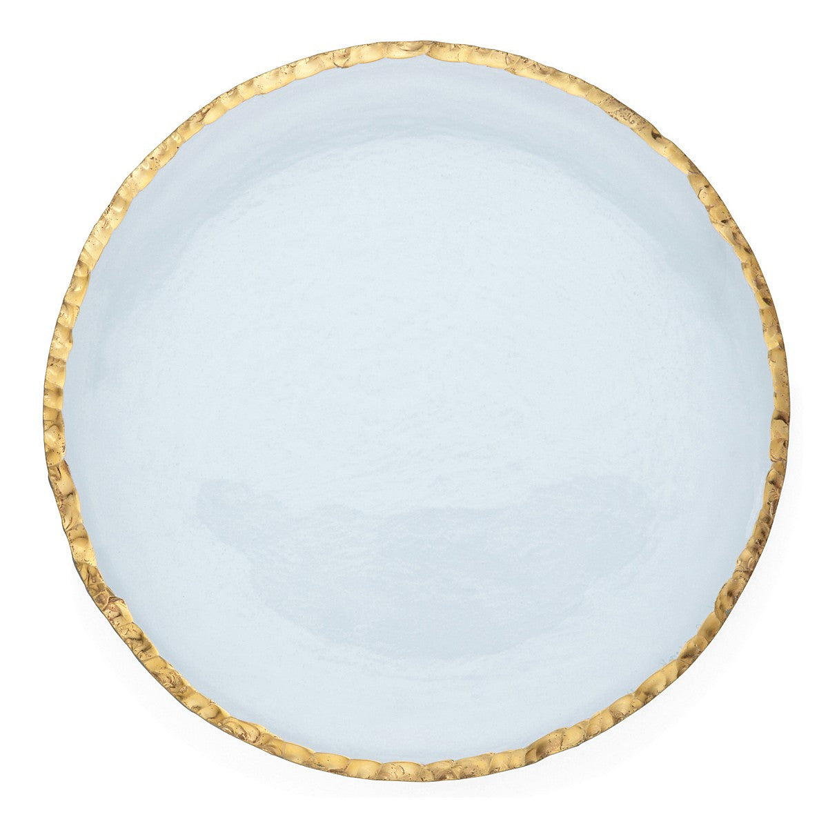 Edgey Gold Dinner Plate