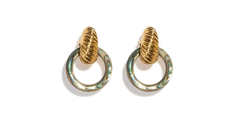 Spiral Shell Earrings