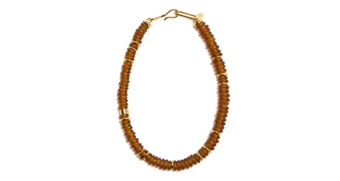 The Laguna Necklace in Honey