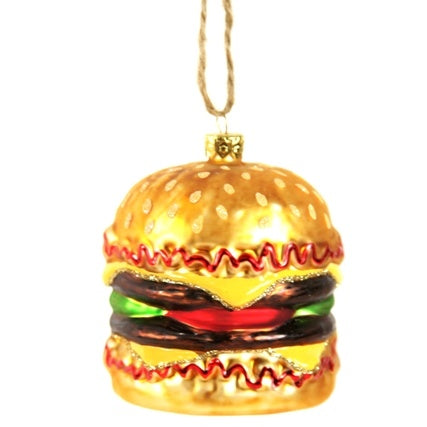 Double Cheese Burger Ornament