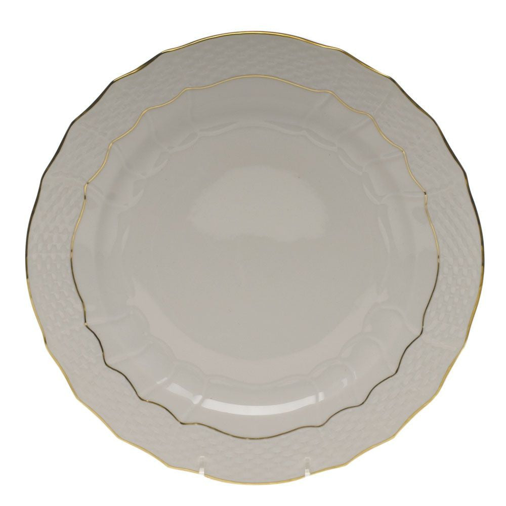 Golden Edge Service Plate