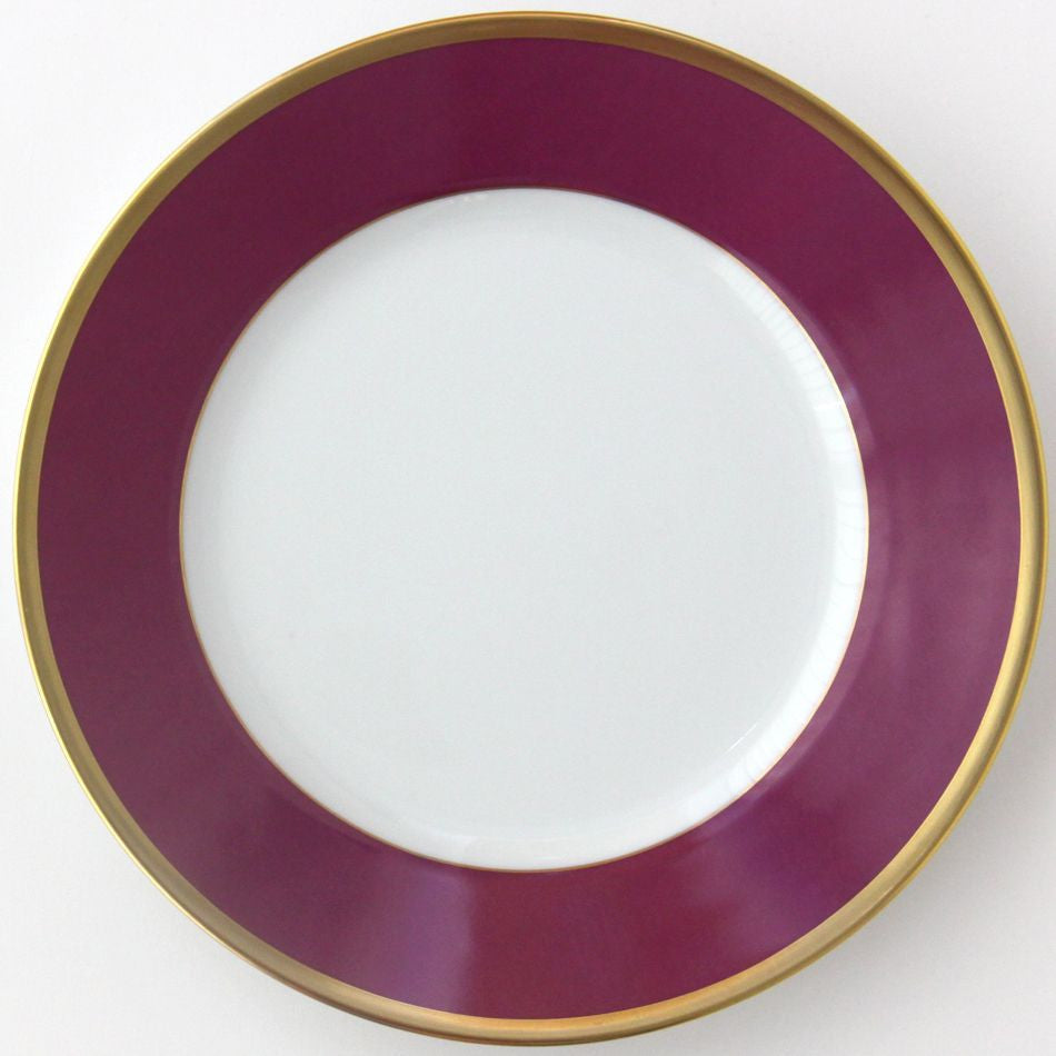 Arc En Ciel Fuschia Dinner Plate