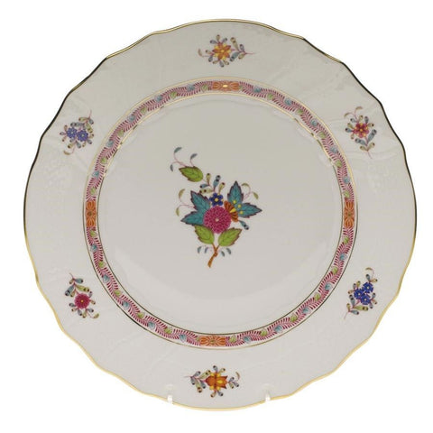 Chinese Bouquet Multi Color Salad Plate