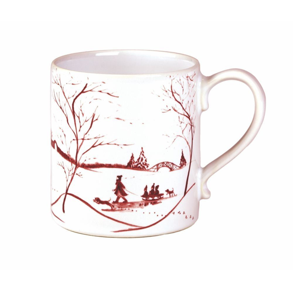 Country Estate Ruby Mug