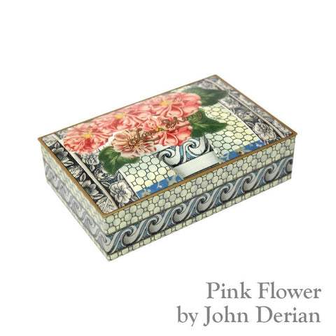 12 Piece Chocolates- John Derian Pink Flower