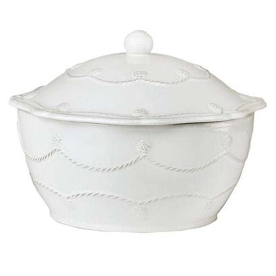 Berry & Thread White Small Covered Casserole