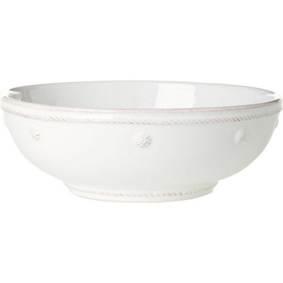 Berry & Thread White Coupe Pasta Bowl