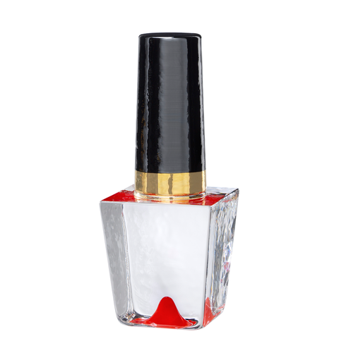 Make Up Nail Polish Bottle Red