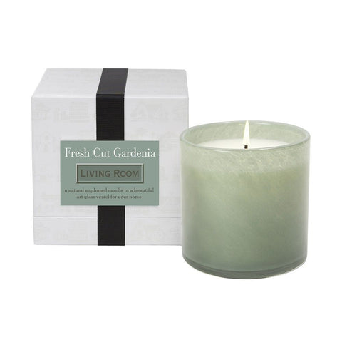 Fresh Cut Gardenia Living Room Candle