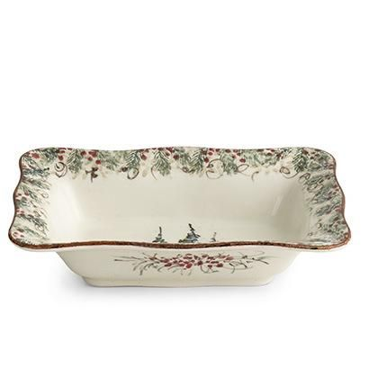 Natale Rectangular Bowl