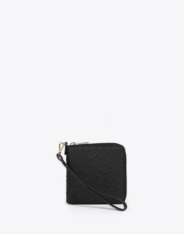 The Billfold Ostrich-Black