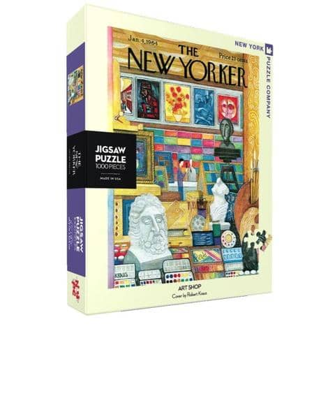 Art Shop Jigsaw Puzzle