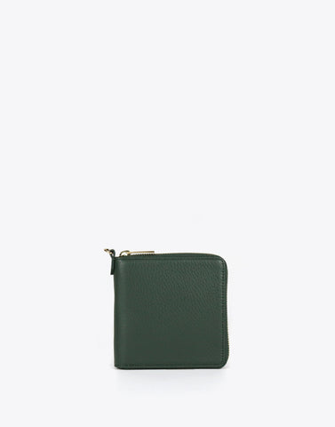 The Billfold Pebble-Forest Green