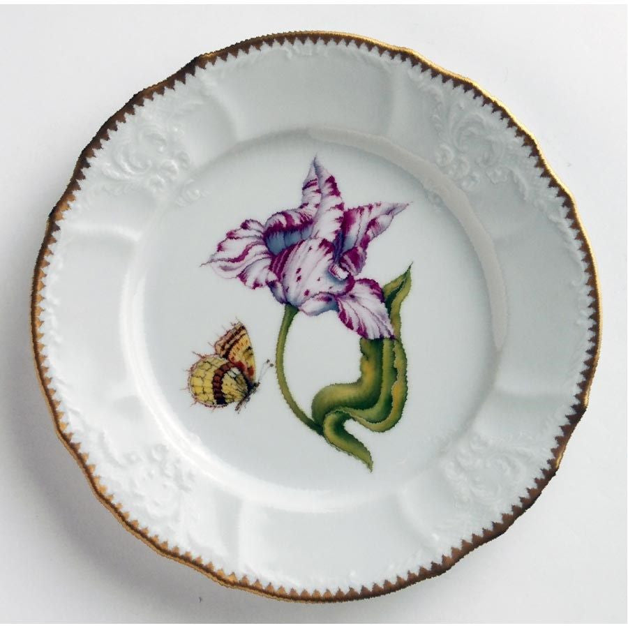 Old Master Tulips Pink & White Salad Plate