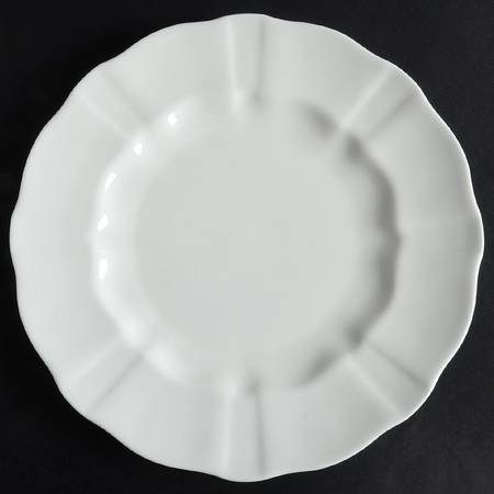 Surrey White Dinner Plate