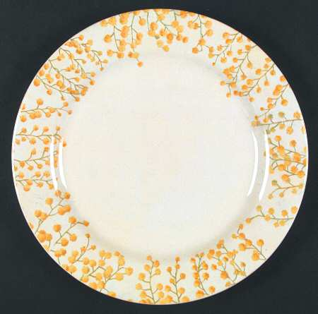 Mimosa Dinner Plate