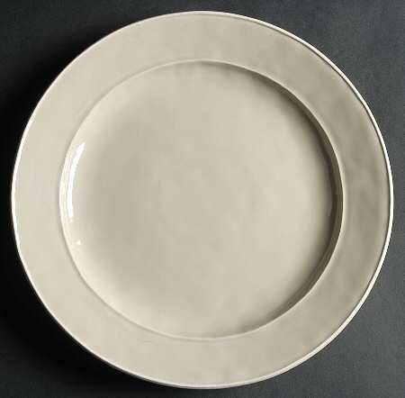 Octavia Portobello with White Dinner Plate