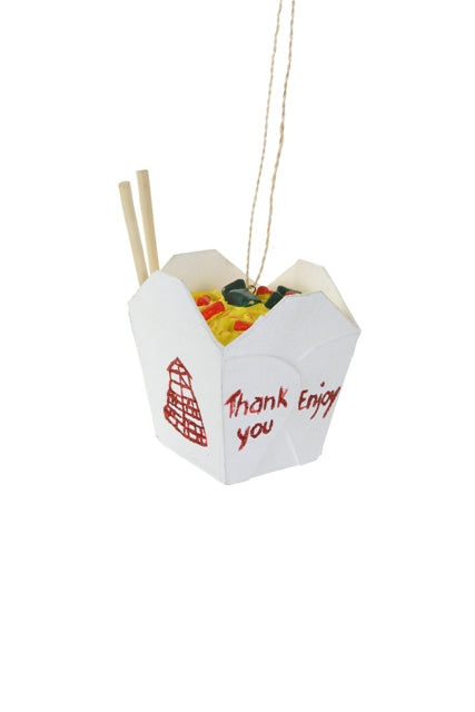 Chinese Take Out Ornament