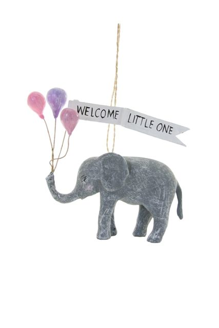 Welcome Little One Ornament