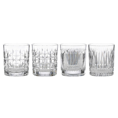 New Vintage Double Old Fashioned Glass Set