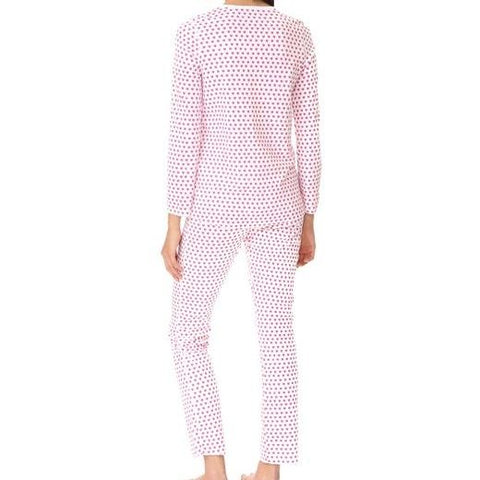 Hearts Pajamas Pink