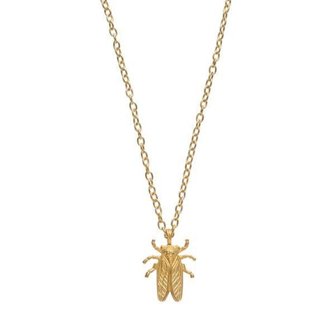 Goldbug Stayin' Alive Gold Pendant Necklace