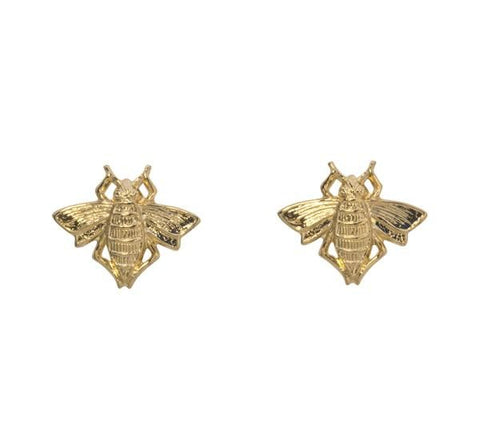 Goldbug Bee Stud Earrings