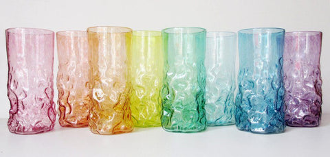 Tall Rock Tumblers (Assorted Colors)