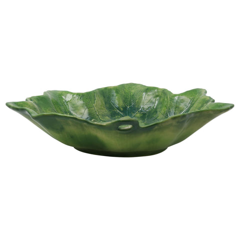 Large Serving Bowl-Green
