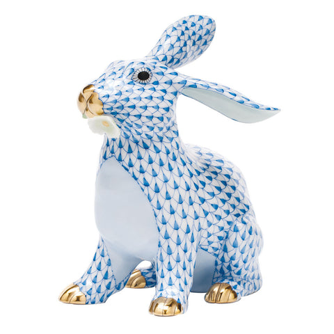Bunny with Daisy Blue