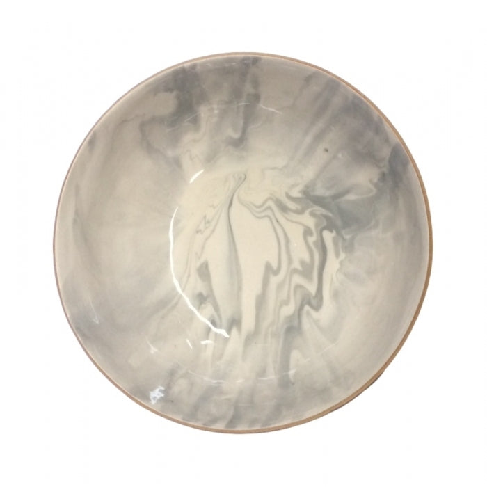 Medium Serving Bowl Carrara Marble