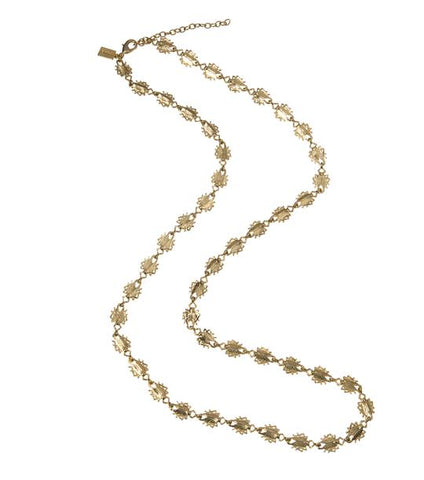 Tiny Goldbug Long Necklace