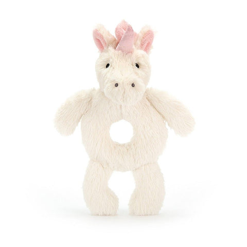 Bashful Unicorn Ring Rattle