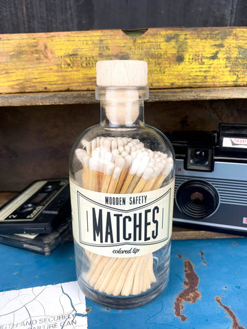 Apothecary White Matches