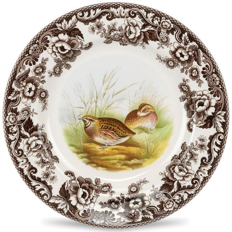 Woodlands Quail Dinner Plate