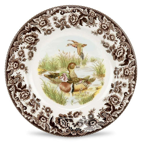 Woodlands Wood Duck Salad Plate