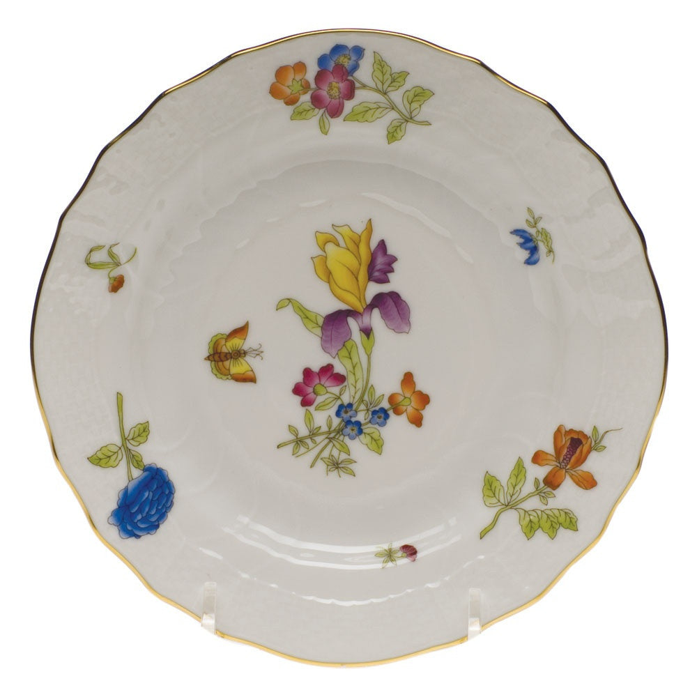 Antique Iris Bread & Butter Plate