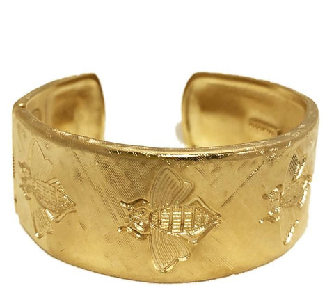 Goldbug Bee Mine Cuff