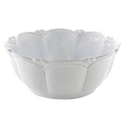 Bella Bianca Rosette Large Bowl