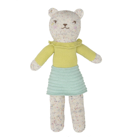 Mini Tweedy Bear Bergamot