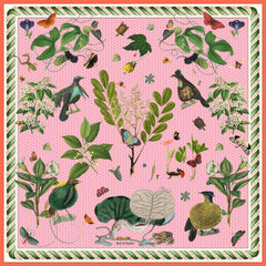 Birds of Paradise Pink Scarf