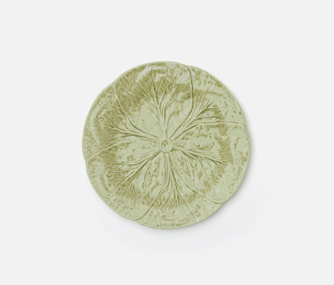 Clarise Soft Green Cabbage Salad Plate